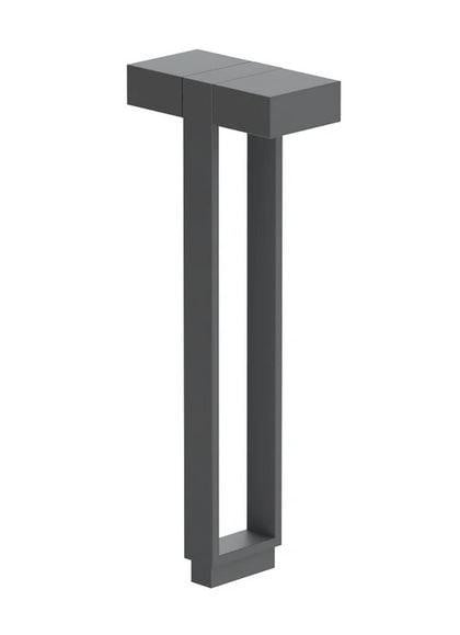 Flos Mile Bollard 1 600 Double FL F015G22A033 Anthrazit