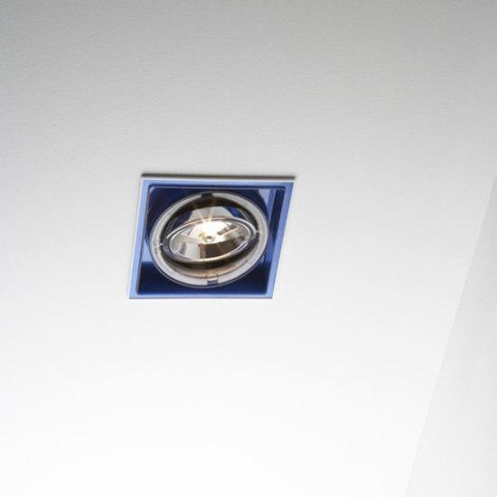Marset Sqaxis 13.1 Low Voltage MR A607-002 Weiß / Blau
